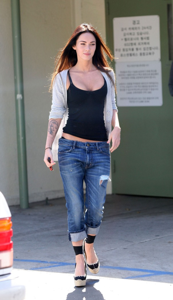 Megan Fox Leaving School After Visiting Brian Austin Green's Son