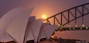 Supermoon Sydney