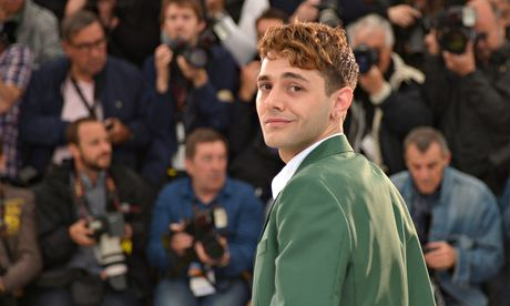 Xavier Dolan Mommy photocall Cannes 2014